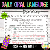 Wonders Daily Oral Language (DOL) 3rd grade Unit 4-Grammar
