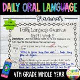 Wonders Daily Oral Language (DOL) 4th grade BUNDLE Unit 1-6