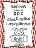 Wonders Daily Oral Language 4th grade Unit 1 WEEK 1 FREE