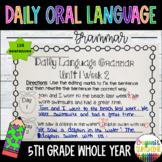 Wonders Daily Oral Language 5th grade BUNDLE PACK UNITS 1-6