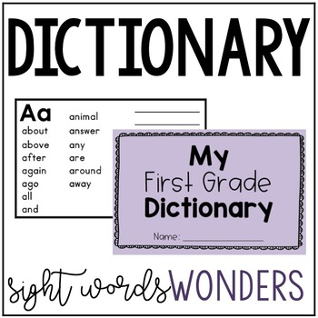 Wonders Dictionary