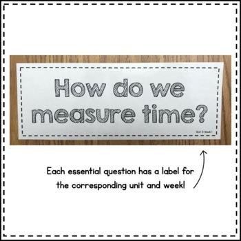 Wonders Essential Questions Third Grade