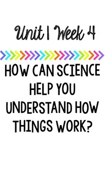 Wonders Essential Questions 4th Grade Unit 1 Weeks 1-5