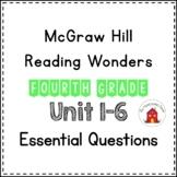 Wonders Essential Questions Fourth Grade