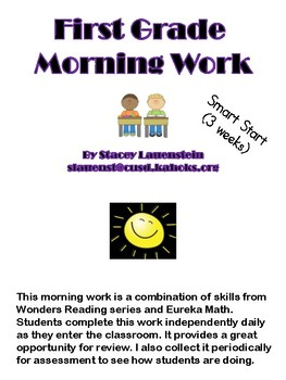 Wonders/Eureka Morning Work