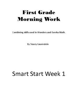 Wonders/Eureka Smart Start--First Grade Morning Work