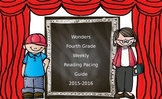 Wonders FOURTH Grade Reading Pacing Guide