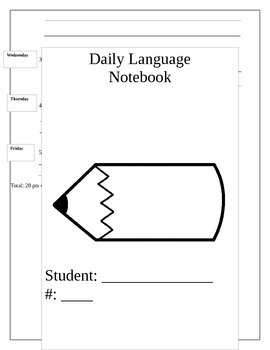 Wonders Fifth Grade Daily Language Bundle Units 1-6