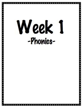 Wonders First Grade Binder Organization