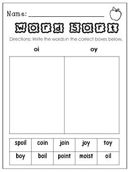 Wonders First Grade Centers Unit 5 Week 5 Worksheet Set. The Joy of a Ship
