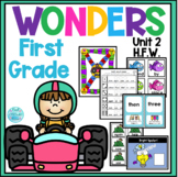 Wonders First Grade High Frequency Words Activities Unit 2
