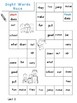 First Grade: High Frequency Words Board Games