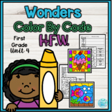 Wonders First Grade Unit 4 Color By Code