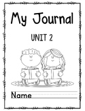 Wonders First Grade Journal Unit 2