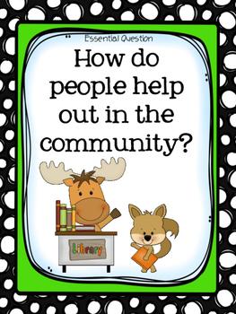 1st Grade Wonders - Unit 2 Week 4 - Let's Help