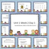 Wonders First Grade Presentations