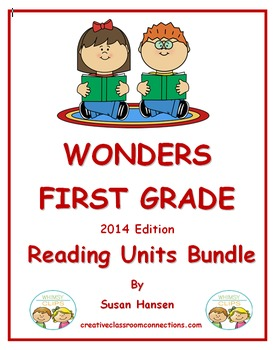Wonders First Grade Reading Units Bundle (2014)