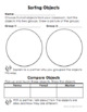Wonders First Grade Science/Social Studies Workstation Card Activity Sheets