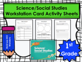 Wonders First Grade Science/Social Studies Workstation Car