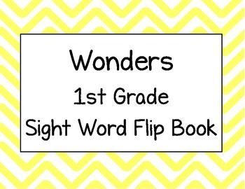 Wonders First Grade Sight Words Flip Book