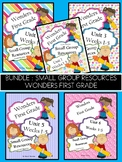 Wonders First Grade Small Group Resources Bundle Units 1-6