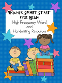 Wonders First Grade: Smart Start High Frequency Word Set