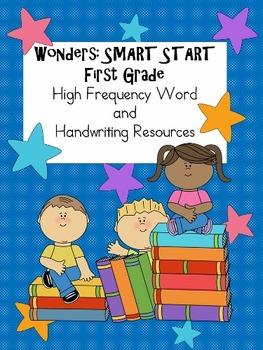 Wonders First Grade: Smart Start High Frequency Word Set