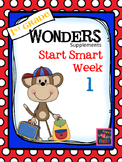 1st Grade Wonders - Start Smart  Week 1 of 3