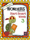 1st Grade Wonders (2014) - Start Smart Week 3 of 3