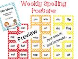 Wonders First Grade Spelling Posters