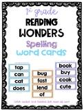 Wonders First Grade Spelling Word Cards