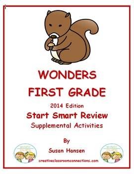 Wonders First Grade Start Smart Three Week Review Activities
