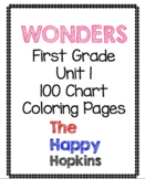 Wonders First Grade Unit 1 100 Chart Scavenger Hunt