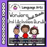 Wonders First Grade Unit 1 Activities Bundle