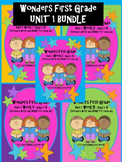 Wonders First Grade: Unit 1 BUNDLE pack