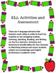 Wonders First Grade Unit 1 Lesson 1 Activities and Assessments for ELL Students