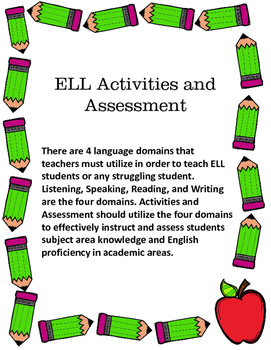 Wonders First Grade Unit 1 Week 2 Activities and Assessments for ELL Students