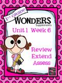 1st Grade Wonders - Unit 1 Week 6 - FREEBIE