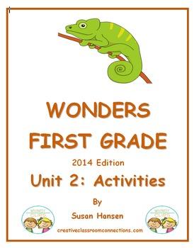 Wonders First Grade Reading Unit 2 Activities (2014)
