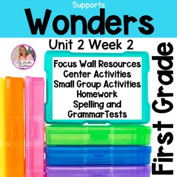 Wonders Reading First Grade Unit 2 Week 2