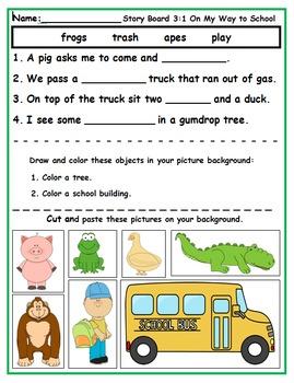 Wonders First Grade Reading Unit 3 Activities (2014)