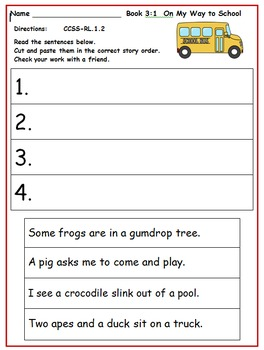 Wonders First Grade Reading Unit 3: Activities 2014