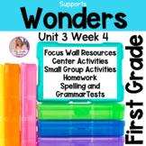 Wonders First Grade Unit 3 Week 4