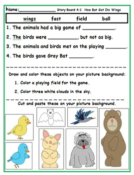 Wonders First Grade Reading Activities Unit 4 (2014)