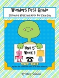 Wonders First Grade: Unit 5 Week 3 Days 1-5: Extended Resources