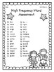 1st Grade Wonders (2014) Review and Assess Unit 5 Week 6
