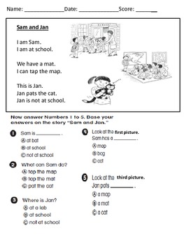 Wonders First Grade Unit One Tests