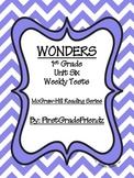 Wonders First Grade Unit Six Tests