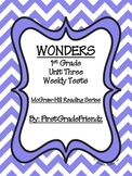 Wonders First Grade Unit Three Tests