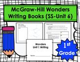 Wonders First Grade Writing Books Bundle (Smart Start thro